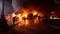Oltre 75 le vittime e 500 i feriti al centro di Kiev. La Casa Bianca chiede il ritiro immediato delle forze di sicurezza. Di Martina Di Guida