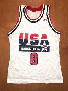fcdec65e5d9 Vintage 1992 Scottie Pippen Dream Team Champion Jersey Size 36 usa charles  barkley michael jordan magic johnson robinson bulls nba finals