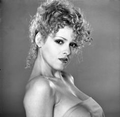 Audrey Landers born as Audrey Hamburg in Philidephia, Pennsylvania on 18 July 1956