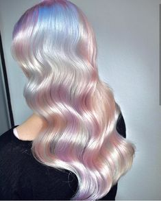 Festival hair style ideas for 2019 including braids accessories tinsel chains and so much more as seen on the likes of Maya Jama the Connoll twins and model Josephine Skriver. Pelo Guay, Hair Inspo, Hair Inspiration, Pelo Multicolor, Opal Hair, Instagram Hairstyles, Corte Y Color, Rainbow Hair, Gorgeous Hair