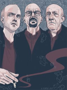 Breaking Bad poster by Ashley Floreal