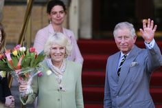 29 April 2013:Charles, Prince of Wales and Camilla, Duchess of Cornwall arrive at their hotel in Amsterdam