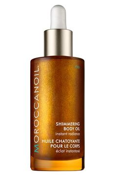 MOROCCANOIL® 'Instant Radiance' Shimmering Body Oil available at #Nordstrom