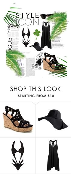 """""""Untitled #344"""" by babaygirl ❤ liked on Polyvore featuring beauty, H&M, Agent Provocateur and Ray-Ban"""