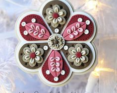 *POLYMER CLAY ~ Handcrafted Polymer Clay Ornament