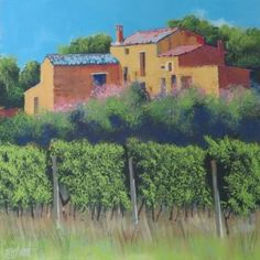 """""""French Vineyard"""" by Terry Wood"""