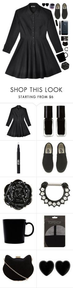 """Try to trick me"" by crazydirectionergirl ❤ liked on Polyvore featuring Mary Meyer, The New Black, Vans, iittala, Topshop, New Look, Dollydagger and Medusa's Makeup"