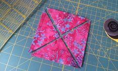Half square triangles2 Comment réaliser des triangles rapidement?