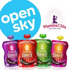 Please help us go live on #OpenSky! Please join and purchase our Chia Squeeze! http://www.opensky.com/mamma-chia