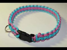 1511-1 A dog leash made from parachute cords on Hands On Crafts for Kids - YouTube