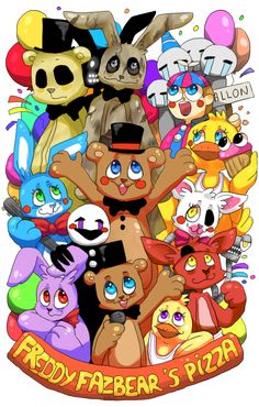 Here at Freddy Frazbear's Pizza, children's happiness is the most important thing ... AM I RIGHT ? I mean ... Dead children • Art by Rei©Tumblr|Facebook|Pix...