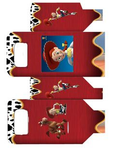 Jesse of Toy Story: Free Printable Boxes.