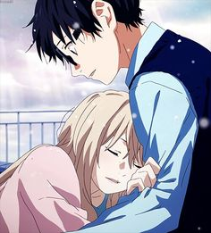 "Your lie in April♡ After an encounter like this, I fail to see how he can still think he's ""Friend A."" Your Lie In April, I Love Anime, Me Me Me Anime, Piano, Animes Manga, Manga Anime, Miyazono Kaori, Shigatsu Wa Kimi No Uso, Otaku"