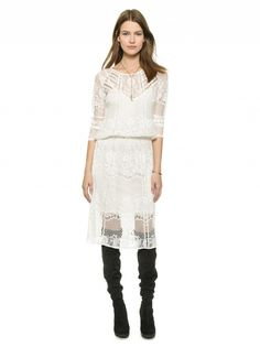 Under $200: 14 Lace Dresses That Look Way More Expensive via @WhoWhatWear