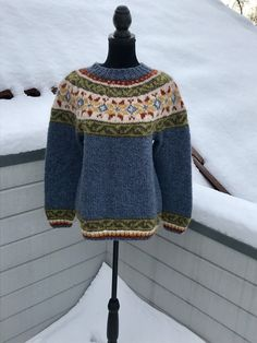 Excited to share this item from my #etsy shop: Icelandic handknitted sweather