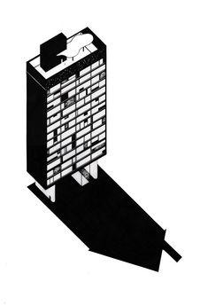Galeria de Arquiteturas fantásticas: as ilustrações de Bruna Canepa - 39