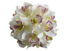 Cymbidium Orchid Pomander from Afloral.com for only $18.99.  Thinking I should get this for my bridesmaids :D