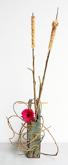 Ikebana Class Lesson 3-7  By Denise