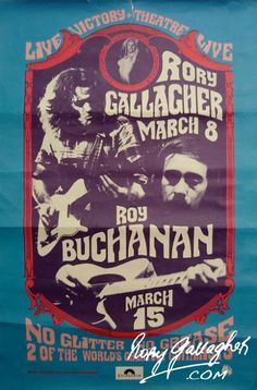 Posters - Rory Gallagher | The Official Website