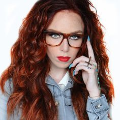 color: Amber Inspirational Celebrities, Clean Microfiber, Couture Fashion, Redheads, Eyeglasses, Eyewear, Fashion Online, Geek Stuff, Fashion Outfits