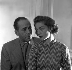 Humphrey Bogard and Lauren Bacall