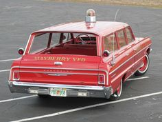 1964 Chevrolet Bel Air fire chief station wagon