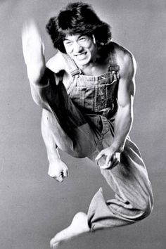 Jackie Chan - I'm going to venture a guess that this was taken in the '70s
