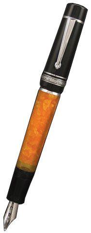 Sale!!! $556.00 Delta Dolcevita Piston Fountain Pen Orange