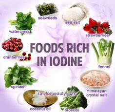 Iodine, a trace element necessary for the proper functioning of the thyroid gland, regulates the overall turnover of energy in the body, physical and mental development. Very little is widespread in nature, ends near the sea have the advantage compared to the mainland, and how our body contains only 25 milligrams of iodine, it is necessary to bring it with the food. There are a lot of foods that contain iodine in its original form, it must be only enough to use. Iodine deficiency in…