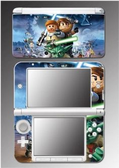 Star Wars 3D Jedi Obi Wan Anakin Yoda Toy Video Game Vinyl Decal Cover Skin Protector 16 for Nintendo 3DS XL $9.50 Amazing Discounts Your #1 Source for Video Games, Consoles & Accessories! Multicitygames.com Click On Pins For More Info