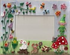 quilling - Picture frame