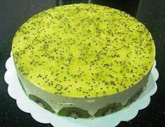 Kiwi Mousse Cake