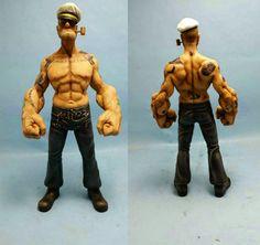 Realistic Popeye Figure