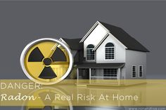 DANGER: #Radon – A real risk at home Did you know that 1 in 15 home has elevated levels of radon?