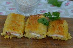 Rotolini di riso con prosciutto cotto e formaggio