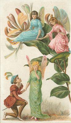 Cards Scrapbooking and Art: Vintage Angel & fairies (42)