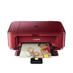 Canon MG3550RED Renkli Wi-Fi Inkjet Yazıcı/Tar/Fot