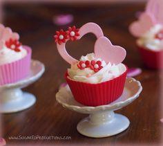 SugarEd lagniappe - making valentines cupcake decor tutorial