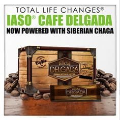 Wake. Make. Lose Weight. Now with more taste and less waste, Iaso Café Delgada can help you begin to look and feel slimmer with continued use. Replace your corporate cup O' Joe with this weight loss recipe. Our improved formula now has less calories and is combined with Chaga