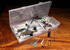 Other Fly Tying Materials 23816: Hareline Fly Tying Material Kit With Premium Tools And Vise -> BUY IT NOW ONLY: $174.95 on eBay!