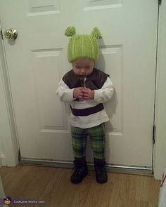 Shrek kid costume