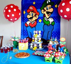 If Joseph and his brothers were planning the party = Super Mario Party