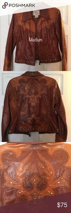 Cripple Creek Leather Jacket This leather jacket is very well made and in great shape. Cripple Creek Jackets & Coats