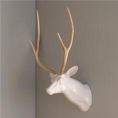 Decorative Ceramic Wall Deer Head