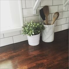 We are finally in the homestretch of installing our butcher block counter tops and I'm am so excited to share with you what we've accomplished so far! I know some of you have been following along w...