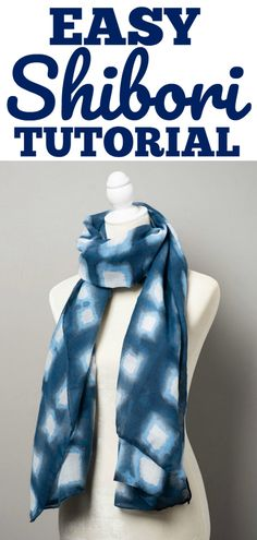 Easy Shibori Tutoria