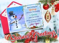 Send Season's Joy & Cheer for your loved ones across miles!! #holidays #winter #seasonsgreetings #happyholidays #holidaycheer #joy #freeseasonsgreetings #acrossthemiles