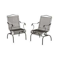 Hampton bay fall river patio dining chair with cushion for Arlington house jackson patio chaise lounge