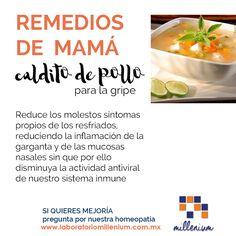 Buenos días! Desde aquí deseamos un gran día para todas las mamás y en su honor recordamos los remedios con que cuidan nuestra salud.