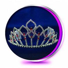 The Pink Aria Pageant Crown or Wedding Princess Tiara (Homecoming, Prom, Bridesmaid, Birthdays, Bachlorette, etc)